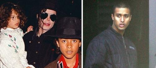 Michael Jackson com Jordan Chandler
