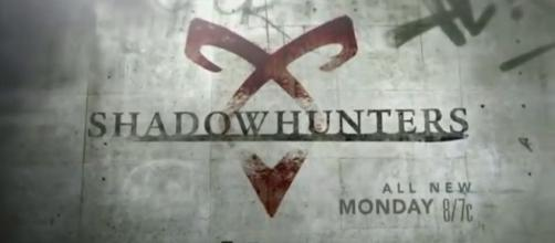 Shadowhunters tv show logo image via a Youtube screenshot