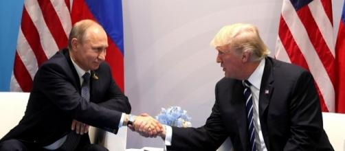 Vladimir Putin and Donald Trump during their recent bilateral talks. (Photo: en.kremlin.ru)
