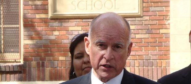 California Gov. Jerry Brown. - photo via Neon Tommy from wikimedia.org
