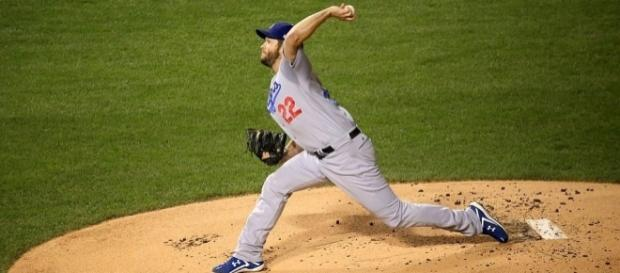 Clayton Kershaw of the Dodgers (Wikimedia Commons - wikimedia.org)