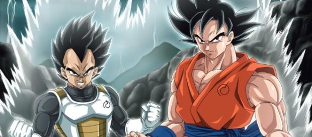 Goku y Vegeta tienen problemas contra el universo 9