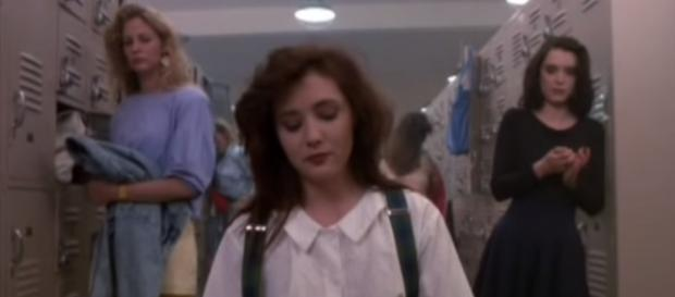 'Heathers' was a cult movie hit in the '80s with stars like Winona Ryder and Shannen Doherty. - YouTube/Renee Cuisia