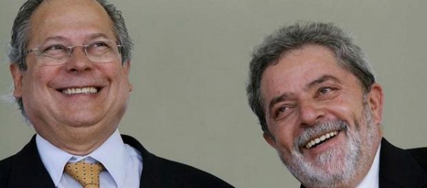 Lula e José Dirceu são grandes amigos (Foto: Reprodução)