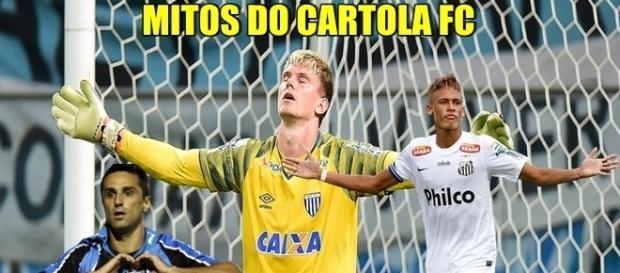 Os jogadores que mais pontuaram no Cartola FC