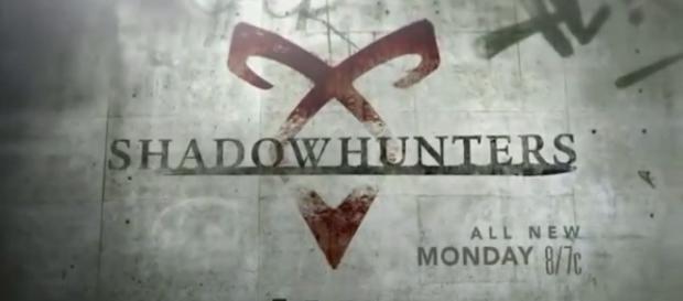 Shadowhunters tv show logo image via a Youtube screenshot