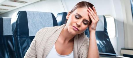 Certos alimentos promovem indisposição quando se anda de avião.