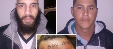 Justiça decide manter preso homem que tatuou 'ladrão' em testa de jovem (Foto: Reprodução)