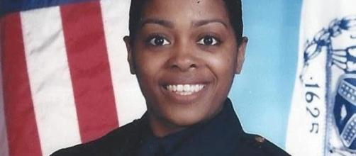 A photo showing Miosotis Familia, the police officer shot by a former convict last July 5 - Flickr/Tiocfaidh ár lá 1916