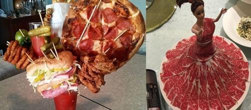 Alguns restaurantes abusam na criatividade ao criar novos pratos