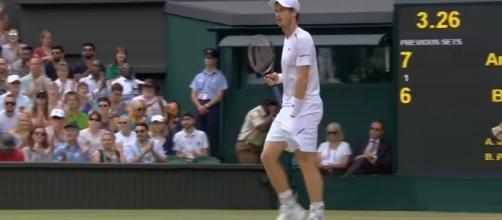 Andy Murray v Benoit Paire highlights - Wimbledon 2017 fourth round (Image credit Wimbledon/YouTube)
