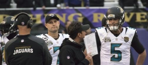 Chad Henne, Blake Bortles | Jaguars at Ravens 12/14/14 | Flickr - flickr.com