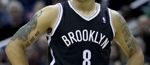 Deron Williams #8 of the Brooklyn Nets - Keith Allison via Wikimedia Commons
