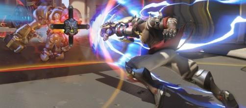 'Doomfist' from Blizzard's 'Overwatch'. Source: https://blizzard.gamespress.com/Overwatch