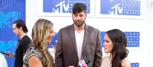 Jenelle Evans and David Eason from 'Teen Mom 2' via YouTube.