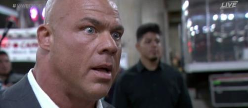 Kurt Angle, WWE - Photo: Twitter (James McKenna)