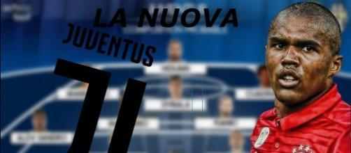 La nuova Juventus con Douglas Costa