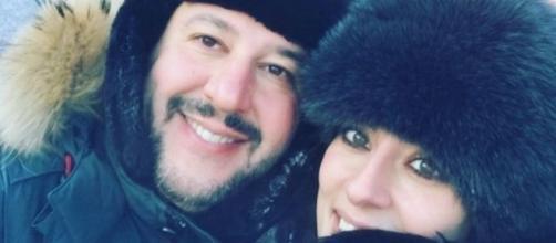 Matteo Salvini e Elisa Isoardi gossip