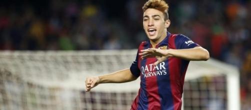 Munir El Haddadi - FC Barcelone