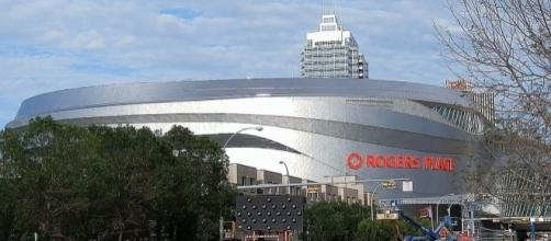 Rogers Place in Edmonton (Wikipédia - wikipedia.org)