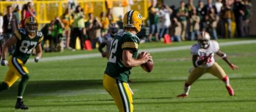 San Francisco 49ers vs. Green Bay Packers at Lambeau Field on September 9, 2012 - Mike Morbeck via Flickr