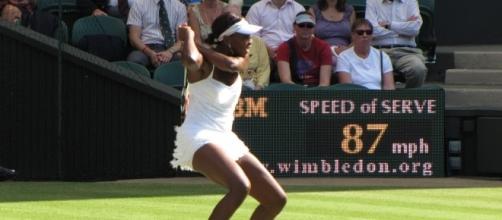 Venus Williams to face Johanna Konta in Wimbledon semi-finals / Photo via Tim Schofield, www.flickr.com