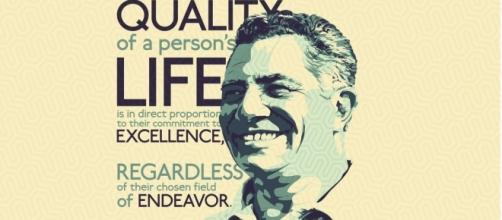 Vince Lombardi was an extremely accomplished head coach and inspiring person (Via Vimeo)