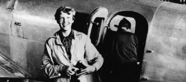 Amerlia Earhart (wikimedia author unknown)
