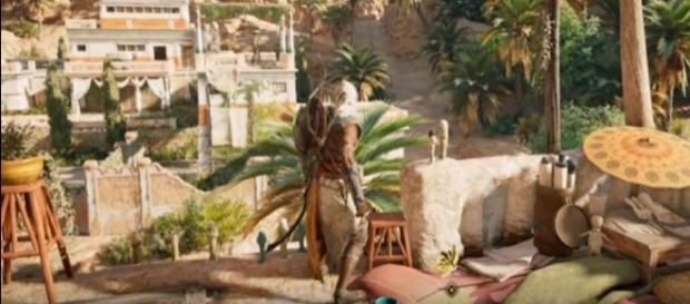 """An incredible from """"Assassin's Creed Origins"""" game runs at 4K on Xbox One X. GAME/YouTube"""