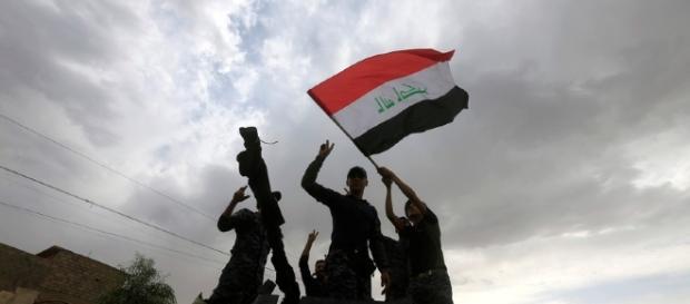 Expresso | Forças iraquianas após a reconquista de Mossul