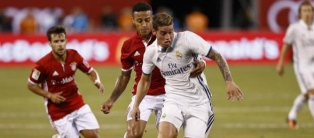 James Rodríguez, titular en amistoso de Real Madrid frente a ... - elespectador.com