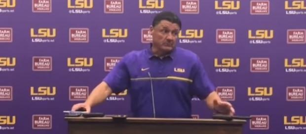LSU Coach Ed Orgeron's post-spring game press conference - NOLA.com via YouTube (https://www.youtube.com/watch?v=tANkJSYEuvo)