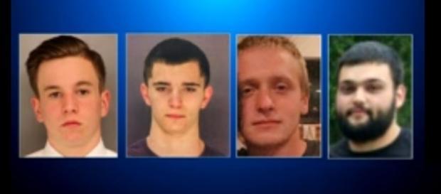 Photo four missing Philadelphia men screen capture from YouTube/CBS Philly