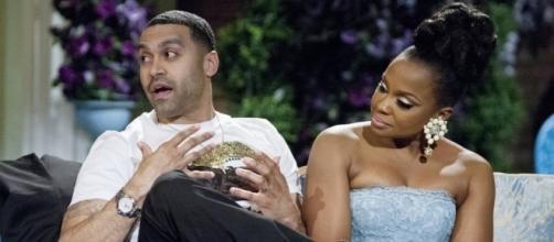 Apollo Nida and Phaedra Parks' divorce is final, finally. Bravo screenshot
