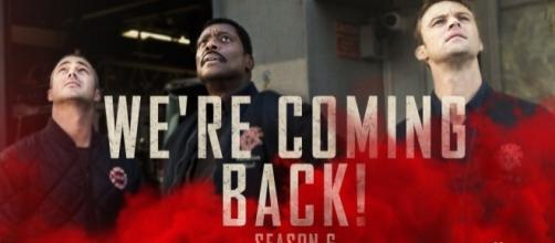 Chicago Fire season 6 [Image via Chicago Fire official Twitter   Tweet below]