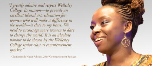 Chimamanda Ngozi Adichie Announced as 2015 Wellesley College ... - wellesley.edu