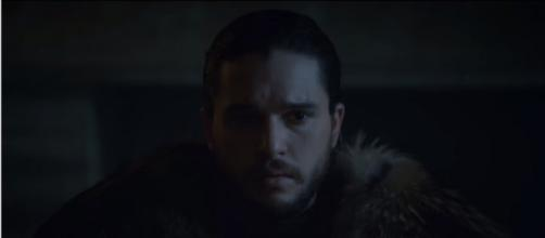 Game of Thrones Jon Snow. (Image via YouTube screengrab)