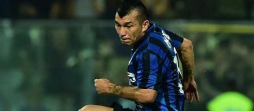 """Gary Medel con la casaca del Inter de Milán-Serie """"A"""" Italia"""