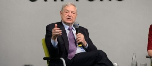 George Soros in 2014. / [Image by Heinrich-Böll-Stiftung via Flickr, CC BY-SA 2.0]
