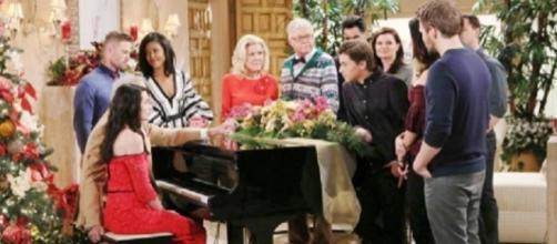 Natale nella soap opera Beautiful