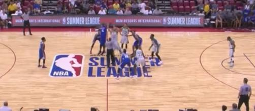 NBA Summer League Las Vegas action continued on Tuesday, July 11th. [Image via NBA/YouTube]