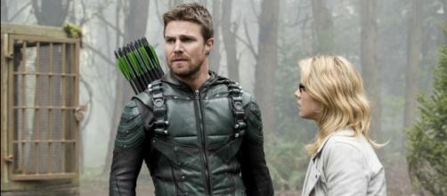 """Arrow"" season 6: flashbacks and time jumps; Stephen Amell talks premiere. (Photo Credit: 'Arrow'/The CW)"