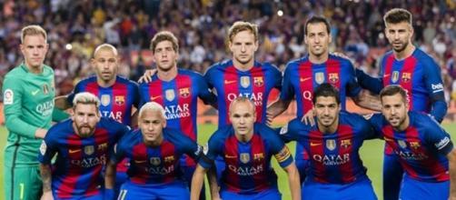 Plantel titular 2017 Fc Barcelona
