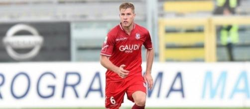 Riccardo Gagliolo, calciatore del Carpi.