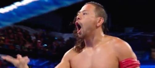Shinsuke Nakamura will take on Baron Corbin at the WWE 'Battleground' PPV on Sunday, July 22nd. [Image via WWE/YouTube]
