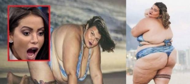 Bailarina plus size faz ensaio sensual - Google