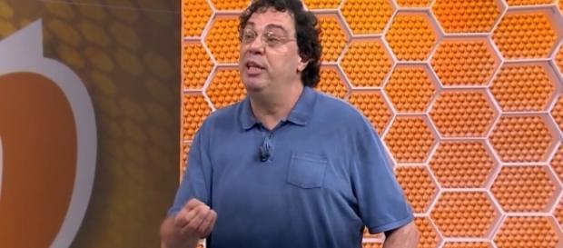 Dentro do 'Globo Esporte', o ex-jogador tem um quadro (Foto: Reprodução)