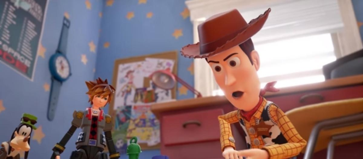 Kingdom Hearts 3' Nintendo Switch version, second playable character
