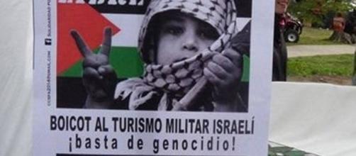 Boicot de comerciantes contra la tragedia de Palestina