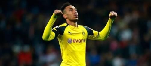 Chelsea want Gabonese striker Pierre-Emerick Aubameyang to replace (Image Credit: pinterest.com)